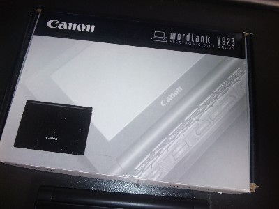 canon wordtank V923